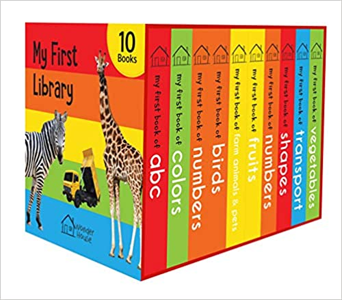 my first library gifts for toddlers