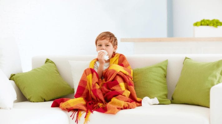 how to survive cold and flu season with your child