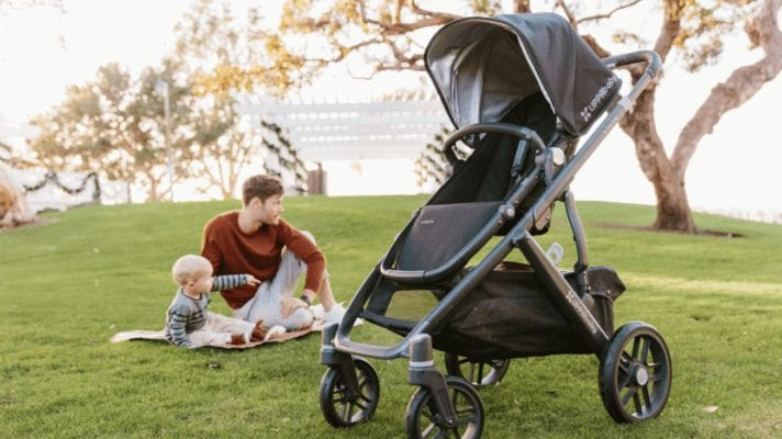 UPPABABY VISTA CRUZ TRAVEL SYSTEM WITH MESA INFANT CAR SEAT