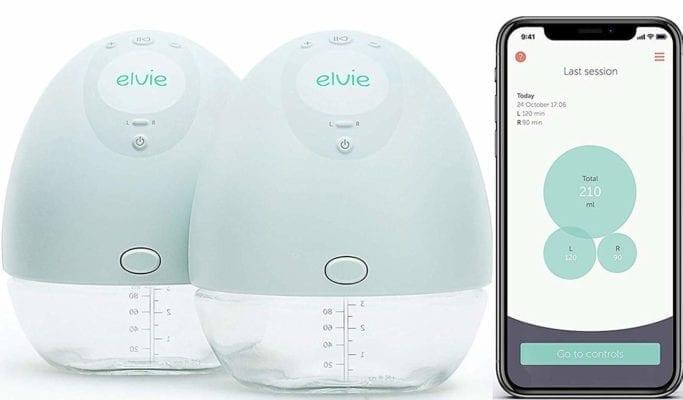 elvie double electric breastpump