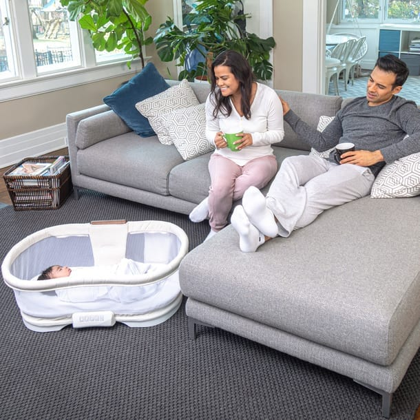 halo luxe plus bassinest removable bed