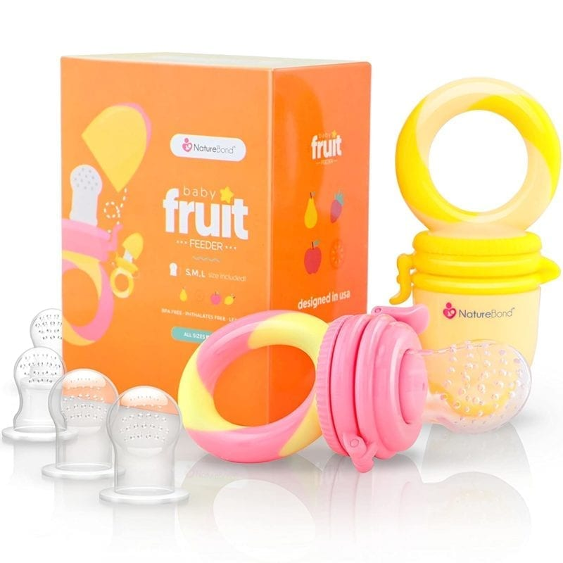 baby teething silicone feeder