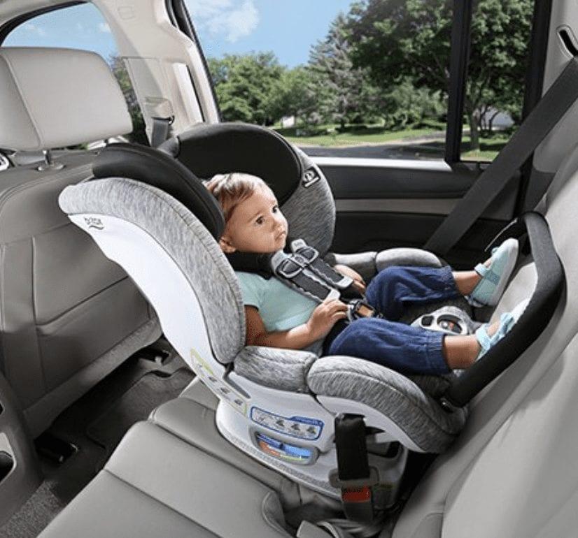convertible rear and forward facing car seat