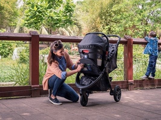 britax b-free and endeavors car seat and stroller travel system type of stroller