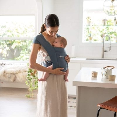 baby wearing benefits with ergobaby carrier