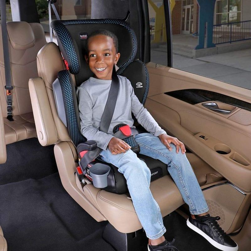 belt positioning car seat