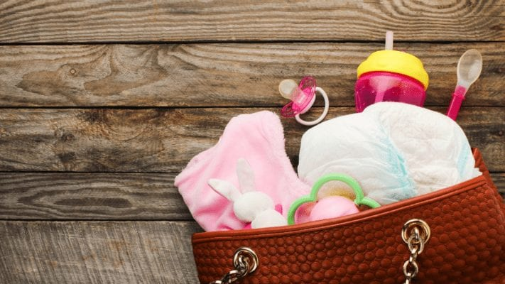 diaper bag essentials for baby
