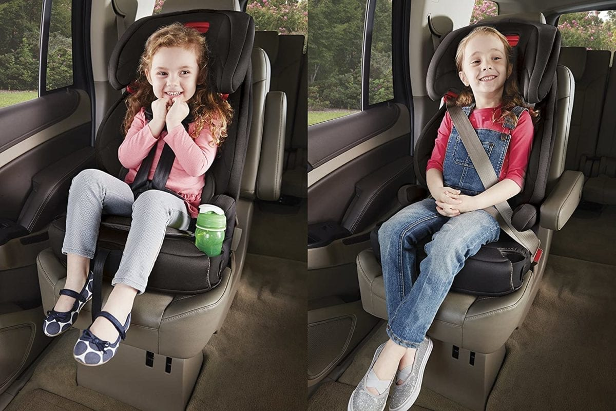 combination harness to booster seat