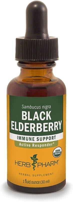 black elderberry herb pharm supplement