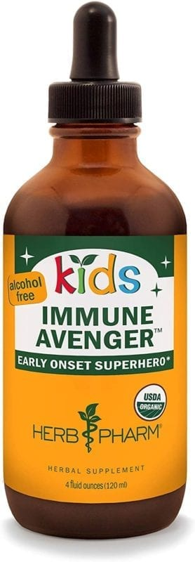 immune avenger herb pharm kids supplement