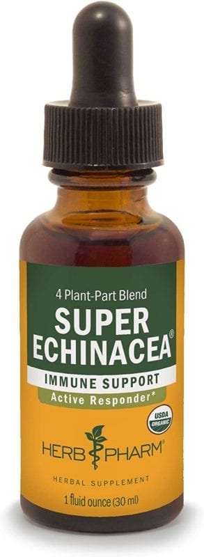 super echinacea herb pharm supplement