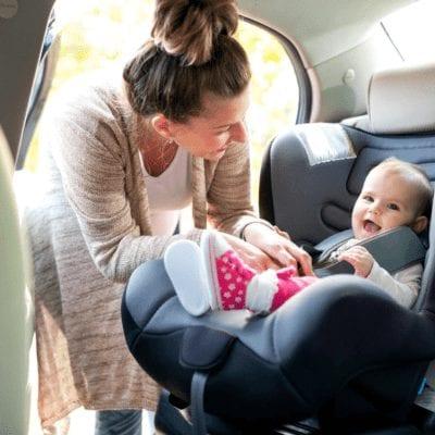 Incorrect Installation #3 - Car seat should be rear-facing and not forward facing