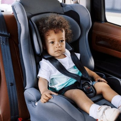 incorrect car seat installation technique harness straps too loose