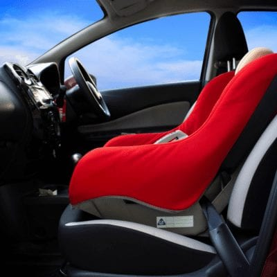 Incorrect Installation #6: Car seat is installed in improper location in the vehicle.