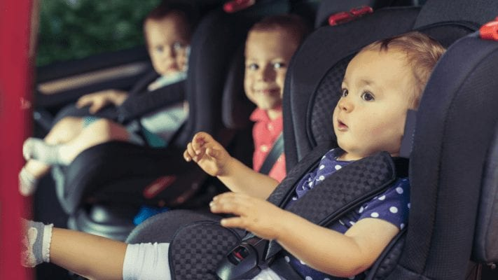 different types of car seat
