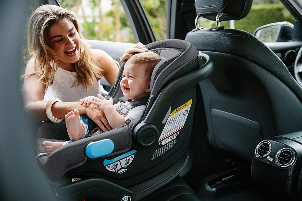 rear facing infant bucket car seat