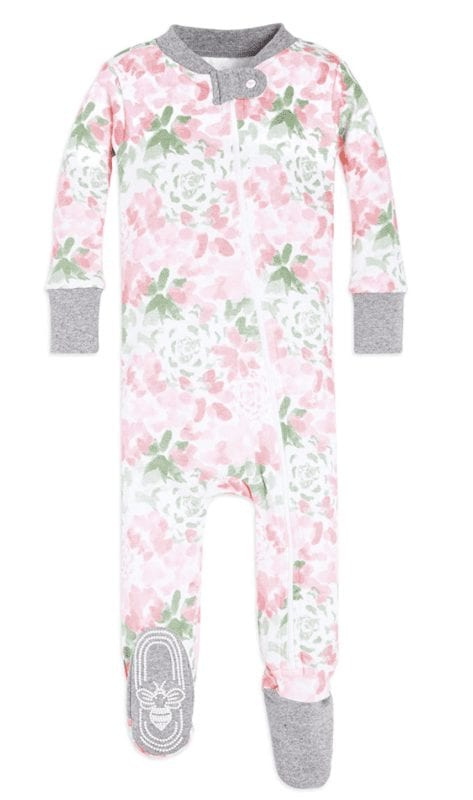 burt's bees organic cotton jammies for kids and babies