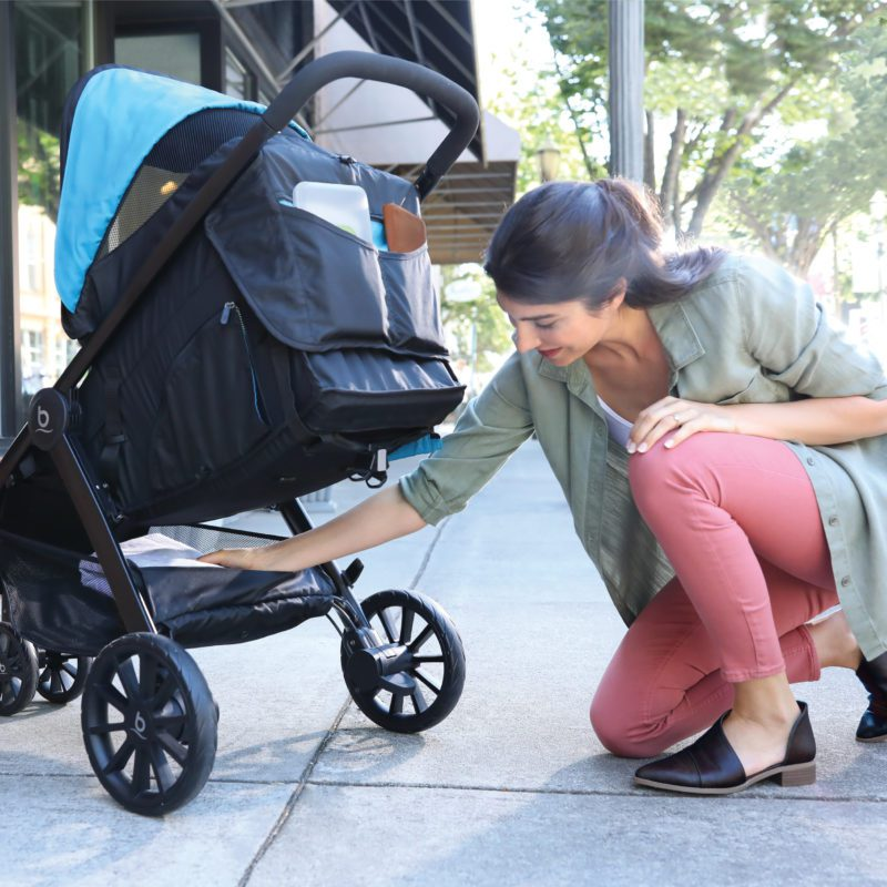 britax b-lively compact easy fold stroller