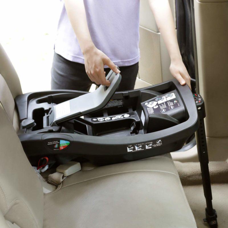 SURESAFE INSTALL EVENFLO INFANT CAR SEAT