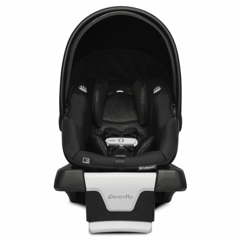 evenflo securemax safezone and sensorsafe infant car seat